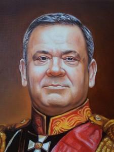 Исторический портрет масломвоеннокомандующего