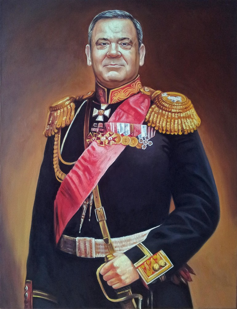 Где заказать портрет маслом в Барнауле?