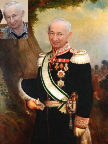 Где заказать исторический портрет по фото на холсте в Барнауле?