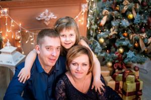 Семейный портрет на холсте в Барнауле