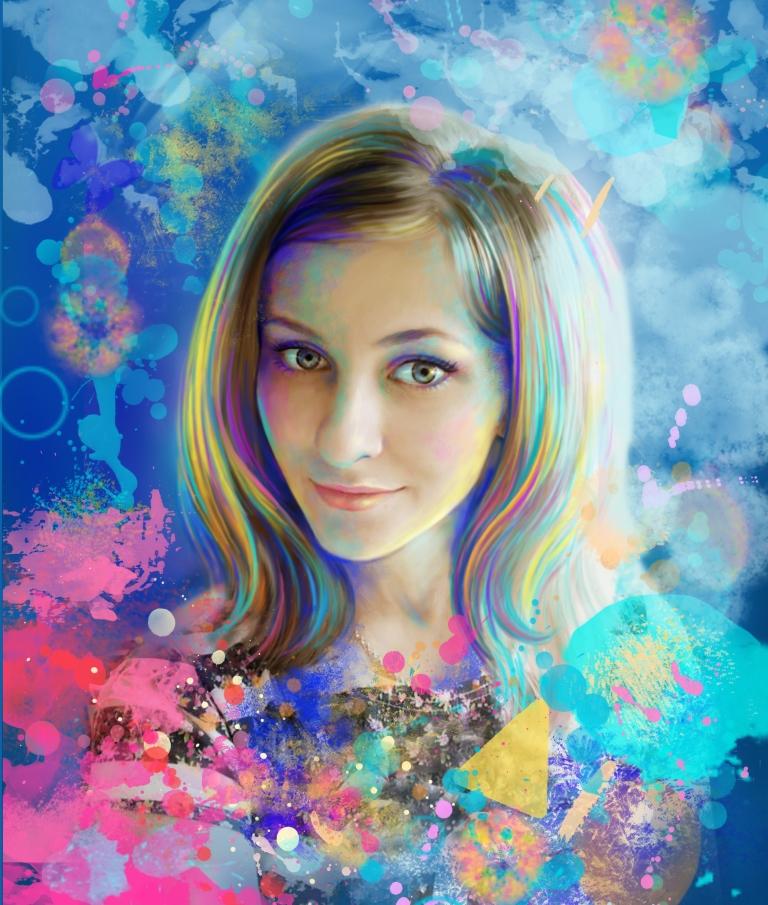 арт портрет картинки внимание деревянные трехмерные