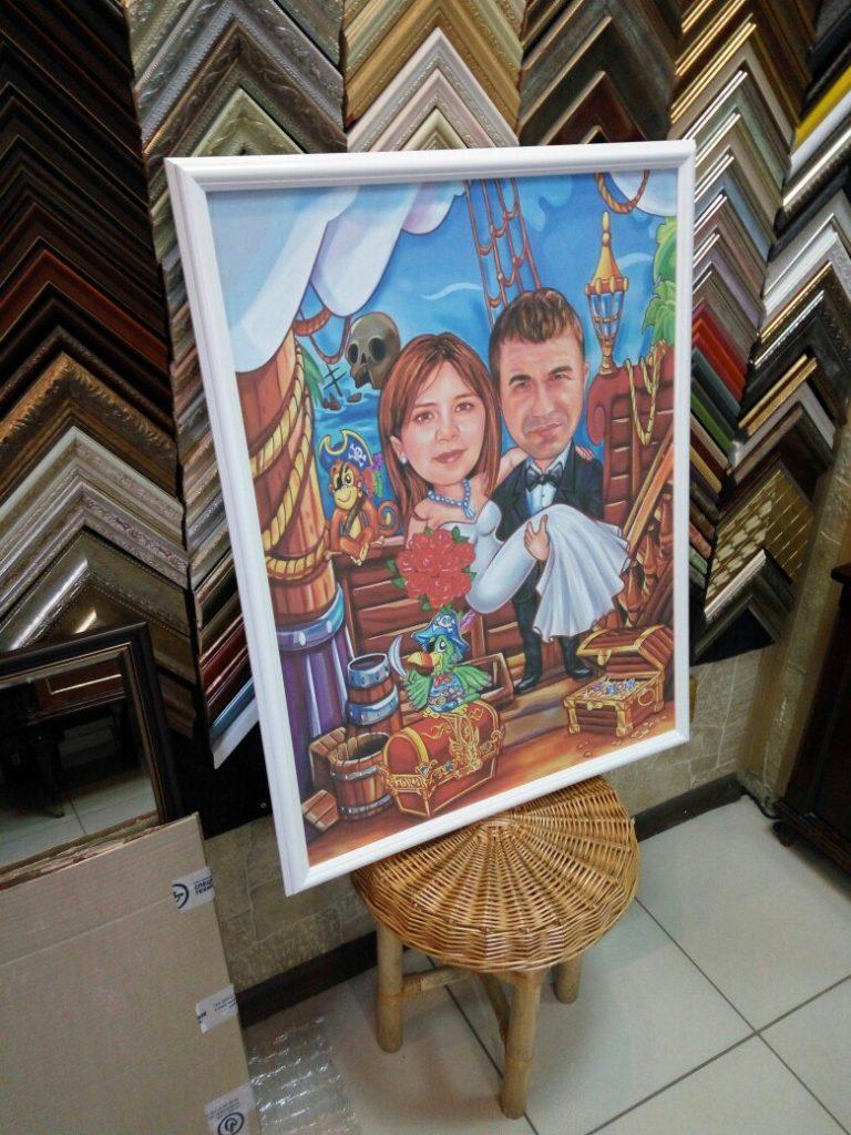 портрет шарж на заказ в барнауле