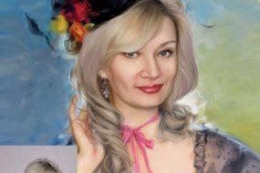 Заказать арт портрет по фото на холсте в Барнауле