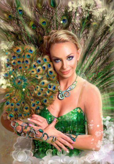 Портрет по фото, подарок на 14 февраля заказать Барнаул