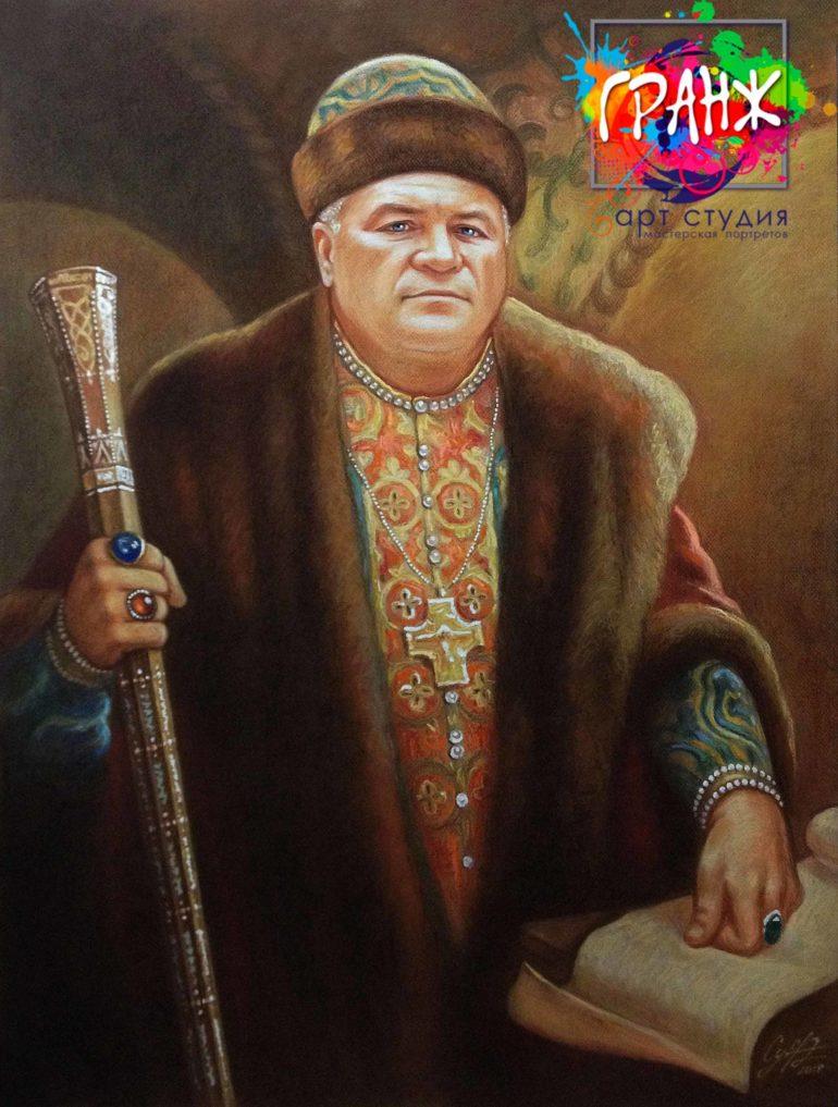 Заказать портрет маслом в Барнауле