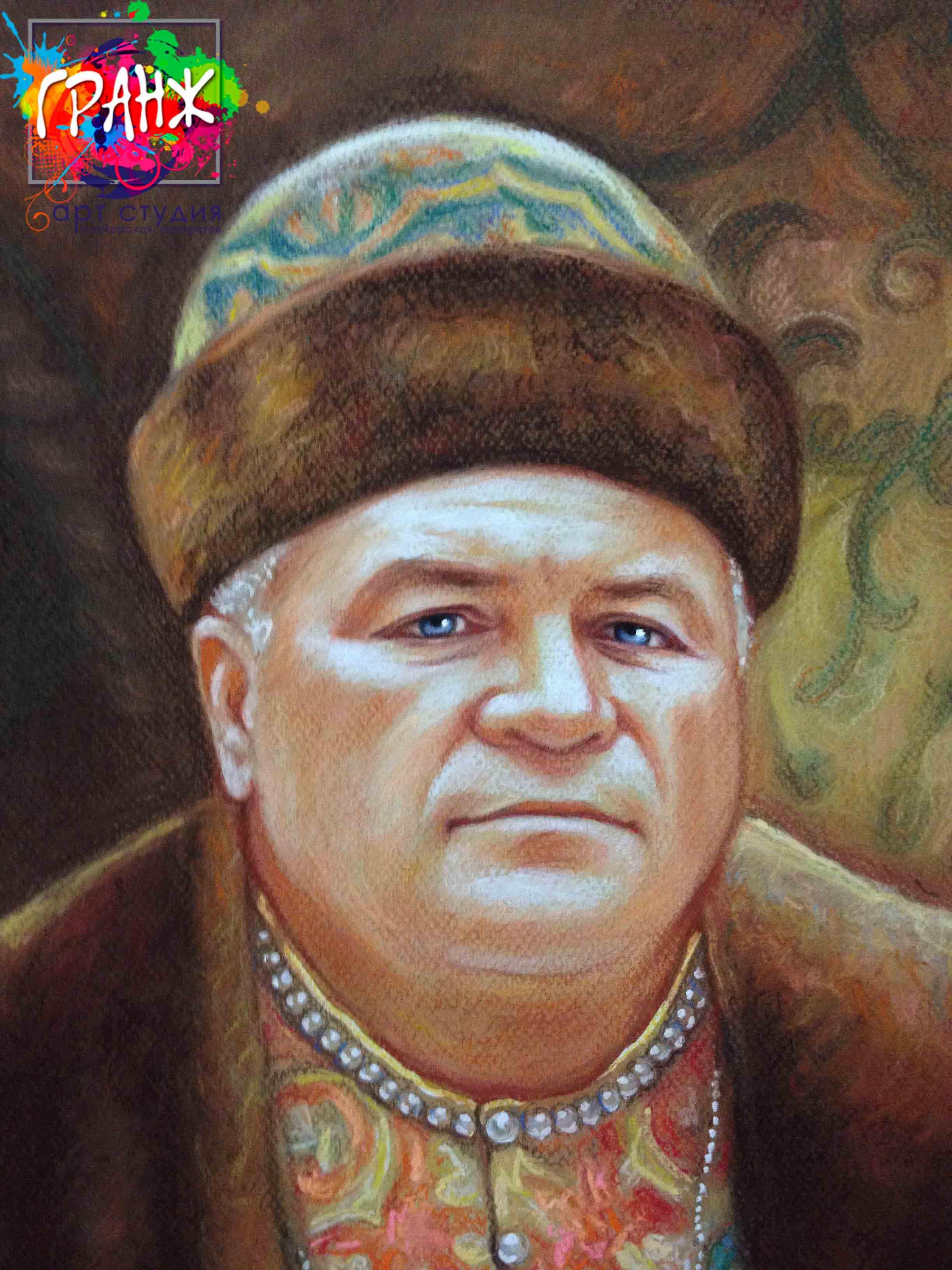 Заказать портрет маслом по фотографии в Барнауле